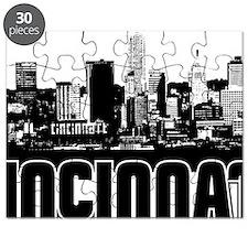 Cincinnati Skyline Puzzle