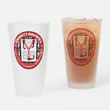 EmmettBrownInstitute Drinking Glass
