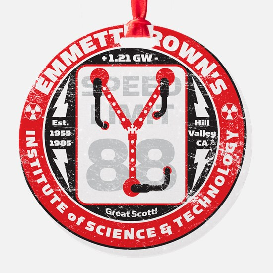 EmmettBrownInstitute Ornament