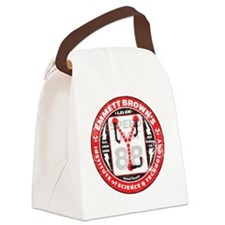 EmmettBrownInstitute Canvas Lunch Bag