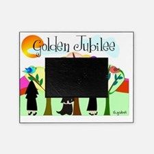 Golden Jubilee TREES SUN MOUNTAINS Picture Frame