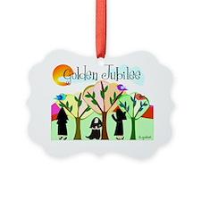 Golden Jubilee TREES SUN MOUNTAIN Ornament