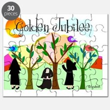 Golden Jubilee TREES SUN MOUNTAINS Puzzle