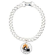 write stunts-white shirt Bracelet
