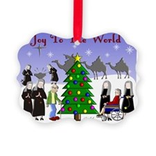LSP JOY TO THE WORLD Ornament