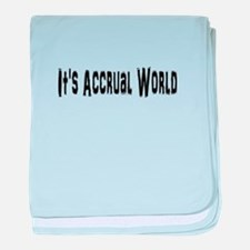 Accural World baby blanket