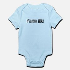 Accural World Infant Bodysuit