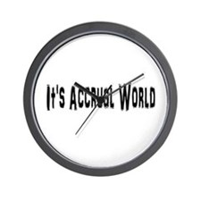 Accural World Wall Clock