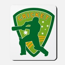 cricket batsman batting Mousepad