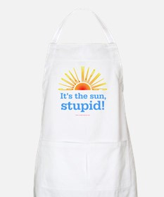 Global Warming Sun BBQ Apron