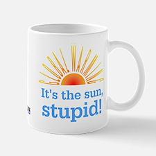 Global Warming Sun Mug