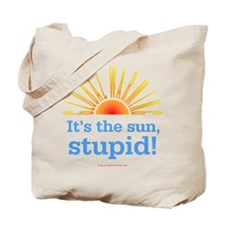 Global Warming Sun Tote Bag