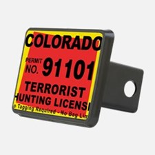 terrorist-hunting-license- Hitch Cover