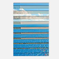 Sky, Sliced (V) Postcards (Package of 8)