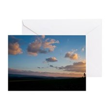 Simple Sunset Greeting Card