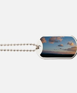 Simple Sunset Dog Tags