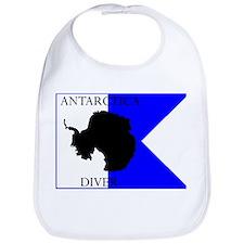Antarctica Diver Alpha Flag Bib