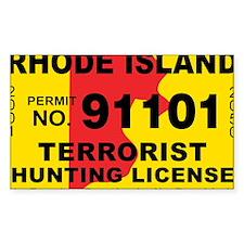 terrorist-hunting-license-XL-R Decal