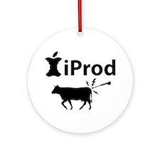 iProd_lite-crop Round Ornament