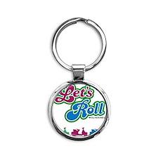 letsroll Round Keychain