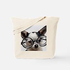CHI Glasses L print Tote Bag