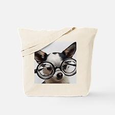 CHI Glasses mousepad Tote Bag