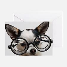 CHI Glasses panel print Greeting Card