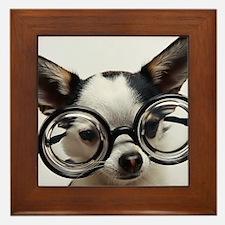 CHI Glasses panel print Framed Tile