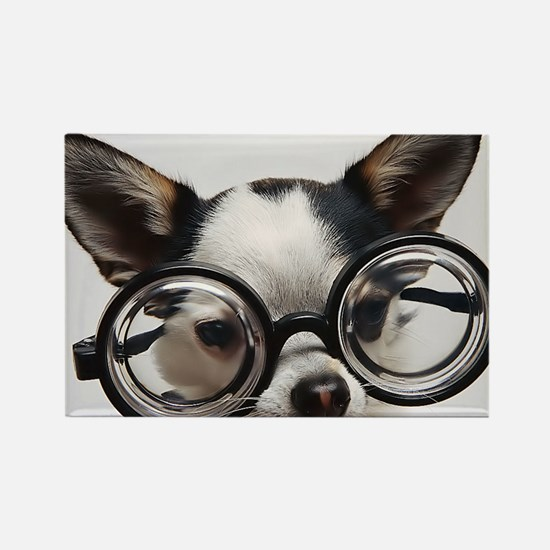 CHI Glasses panel print Rectangle Magnet