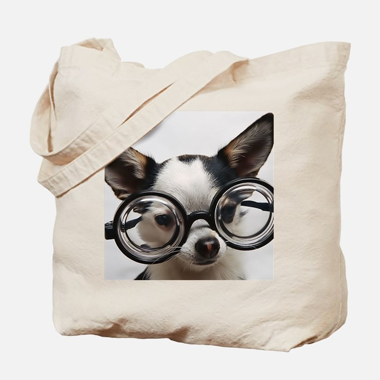 CHI Glasses panel print Tote Bag