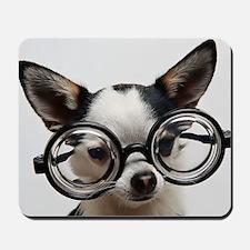 CHI Glasses panel print Mousepad