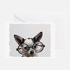 CHI Glasses Greeting Card