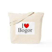 """I Love Bogor"" Tote Bag"