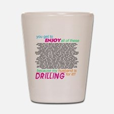 drilling4u WHT Shot Glass