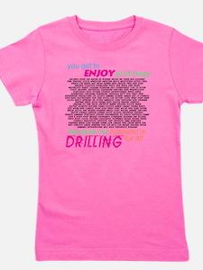 drilling4u WHT Girl's Tee