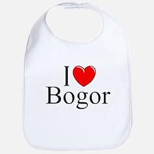 """""""I Love Bogor"""" Bib"""