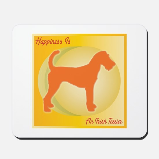 Terrier Happiness Mousepad
