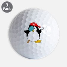 penguinpiratearghSHIRTDARK Golf Ball
