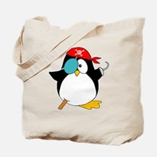 penguinpiratearghSHIRTDARK Tote Bag