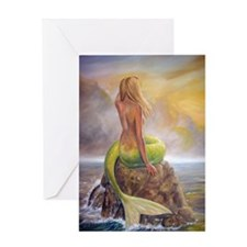 merm perch for journ Greeting Card