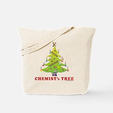 Chemist Christmas Tree! Tote Bag