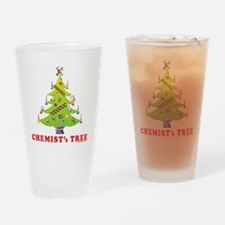 Chemist Christmas Tree! Drinking Glass