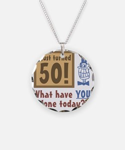BdayQuestion50 Necklace