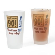 BdayQuestion90 Drinking Glass
