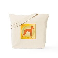 Greyhound Happiness Tote Bag