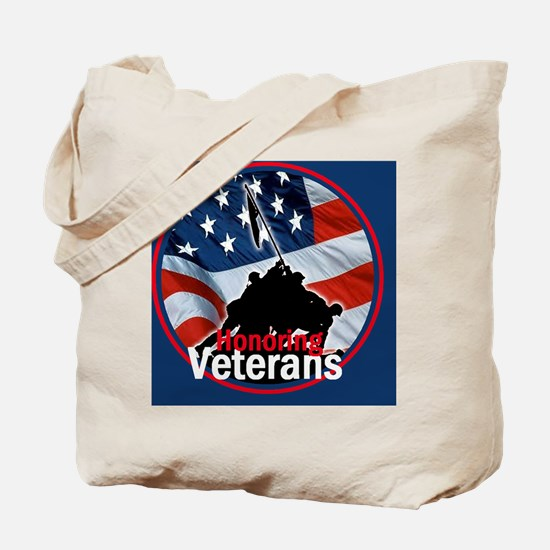 Honoring Veterans Tote Bag