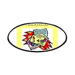 worlds greatest philatelist stamp collector Patche