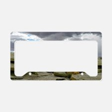desert_storm_panel License Plate Holder