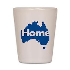 Australia-Home-Blue Shot Glass