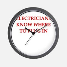 ELECTRIC.png Wall Clock